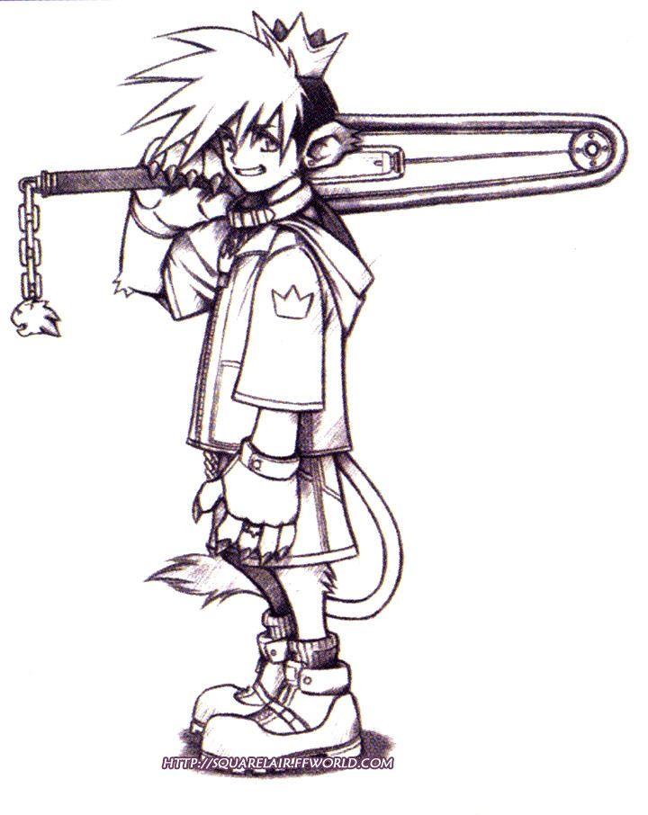 Kingdom Hearts conceptual - http://www.giantbomb.com/ | character ...