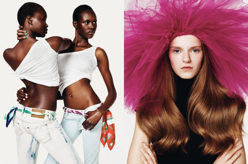 Fashiontography: Benetton Spring/Summer 2010 by Josh Olins