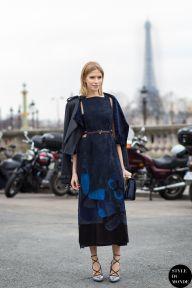 STYLE DU MONDE / Paris Fashion Week FW 2015 Street Style: Elena Perminova  // #Fashion, #FashionBlog, #FashionBlogger, #Ootd, #OutfitOfTheDay, #StreetStyle, #Style