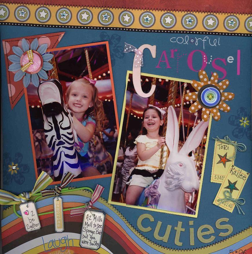 Carousel Cuties - Scrapbook.com