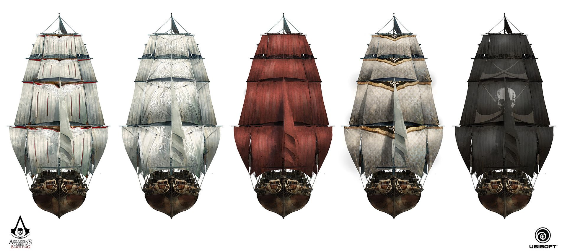 Assassin S Creed Iv Black Flag Jackdaw And The Rouge Design