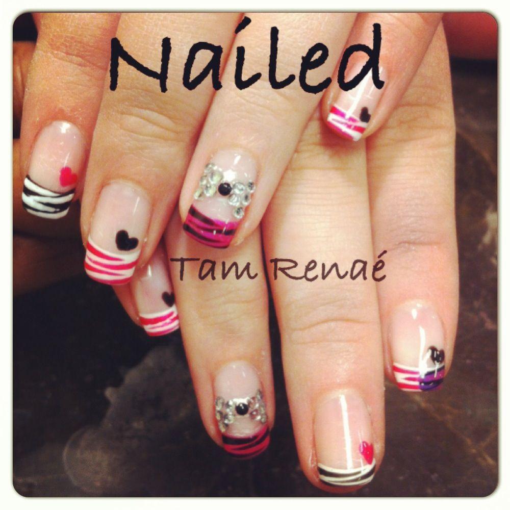 Valentine\'s Day Shellac Nails | Beauty | Pinterest | Shellac nails