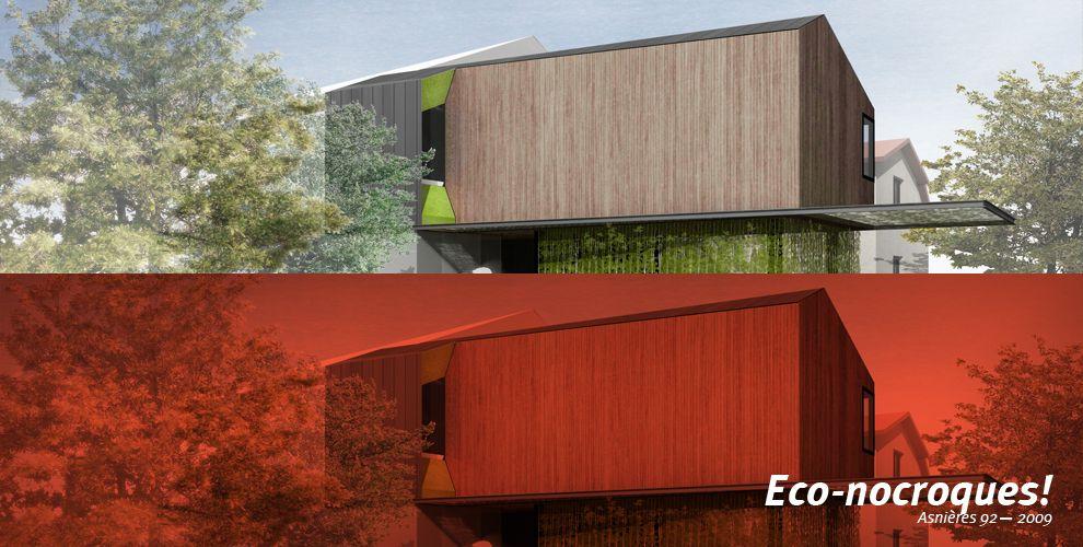 Janand+Delahousse Architectes surélévation Pinterest - renovation electricite maison ancienne