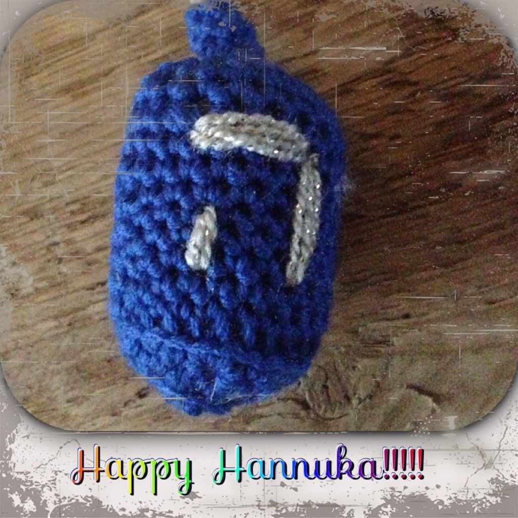 Dreidel Free Crochet Pattern   Holiday Crochet   Pinterest   Free ...