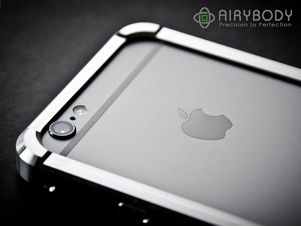 online retailer 5f8ff 0f492 A perfect unibody aluminum bumper case for iPhone 6/6 Plus project ...