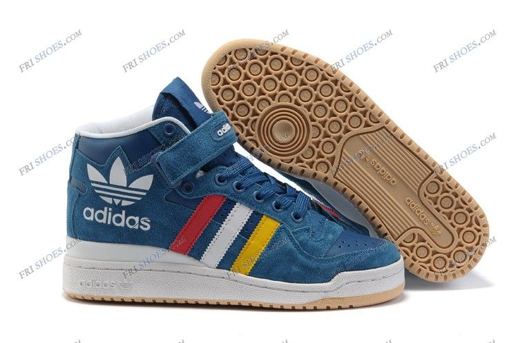 new concept 1f8cc 8d727 Adidas Forum Mid Blue White Mens Basketball Shoes adidas online shop  Regular Price   125.00 Special