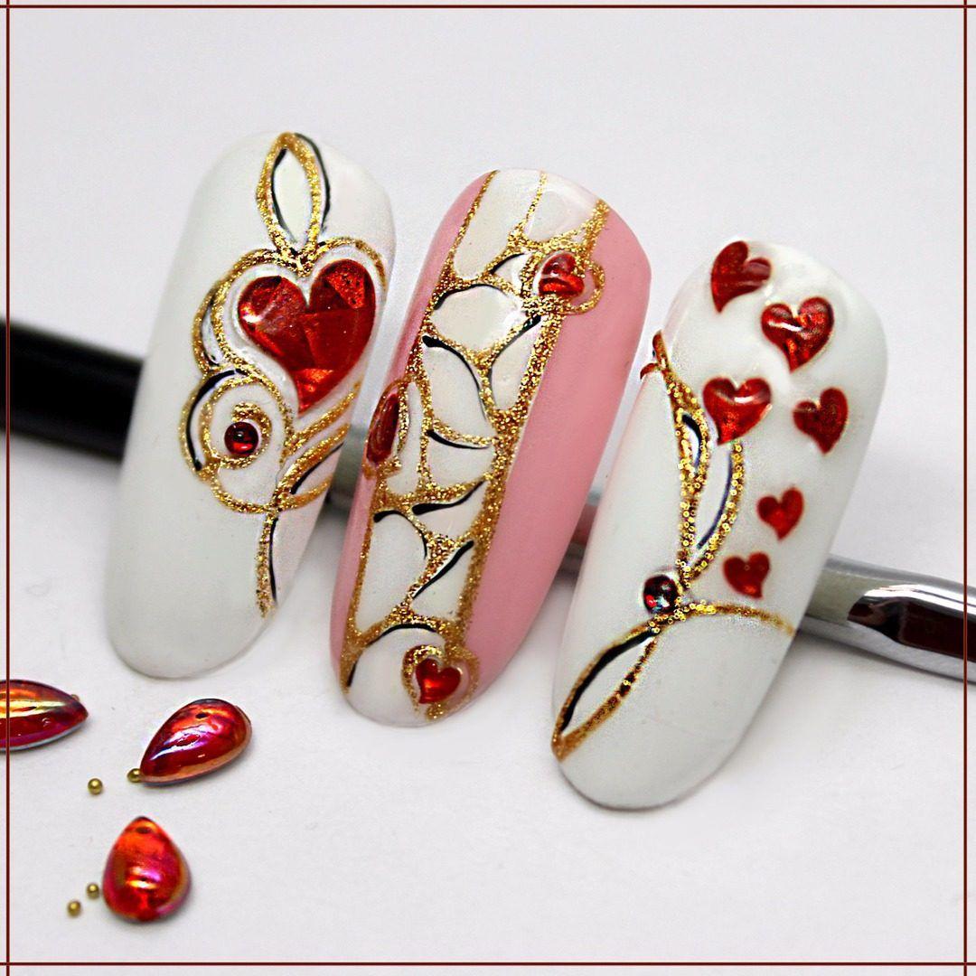 Nika Nagel — Картинки из тем | OK.RU | Романтичные ногти ...