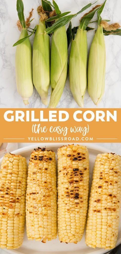 to Cook Corn on the Cob (Microwaved and Grilled) Get perfectly tender and crisp corn on the cob every time with these easy methods for Microwave Corn on the Cob and Grilled Corn!Get perfectly tender and crisp corn on the cob every time with these easy methods for Microwave Corn on the Cob and Grilled Corn!