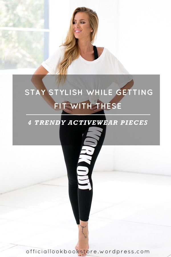 13ddac3928f81 Style Tips // Love working out? Look totally stylish in these fab  activewear pieces perfect for working up a sweat at the gym.