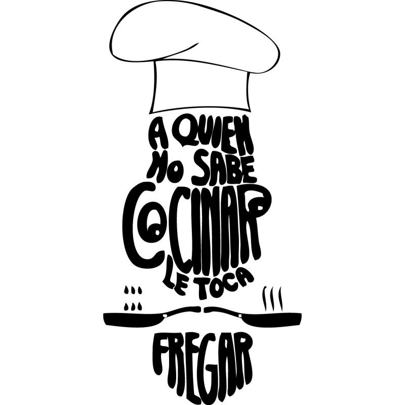 Resultado de imagen de vinilos cocina fuentes cocina - Vinilos de cocina ...