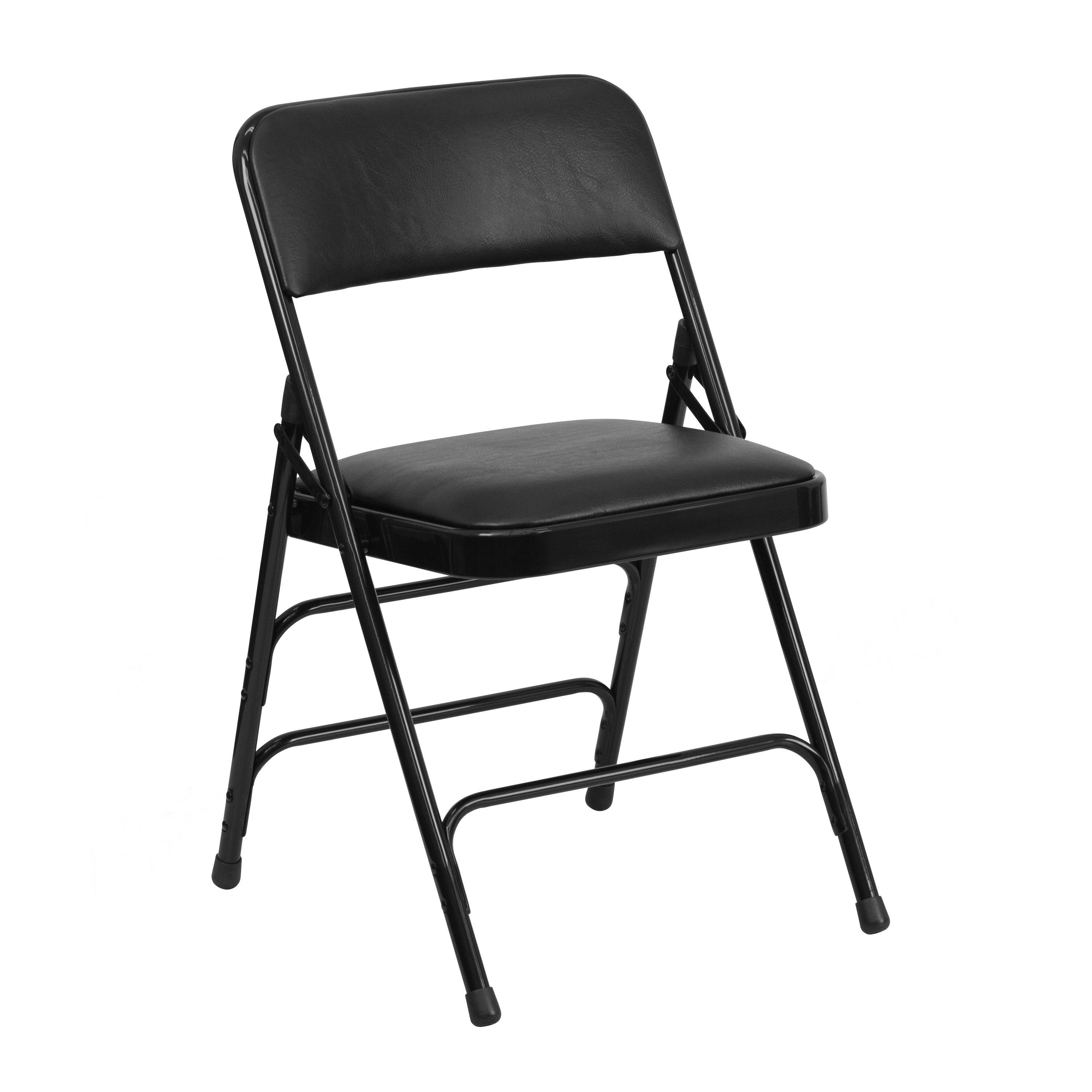 Aster Black Folding Chairs Aster Black Folding Chair 4