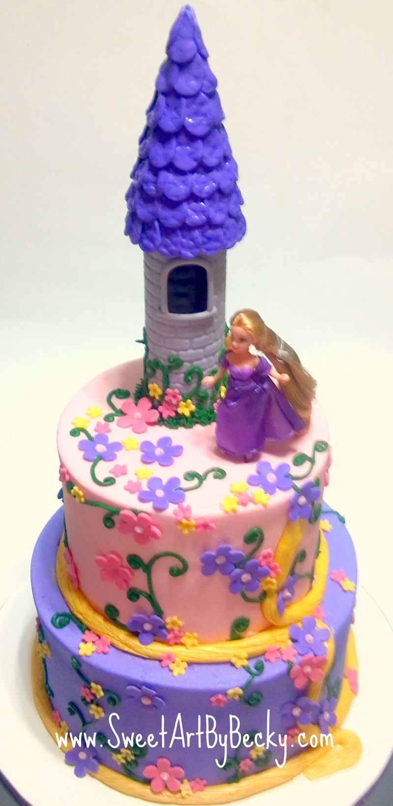 Tangled Birthday Cakes Cleveland Dayton Wedding Birthday