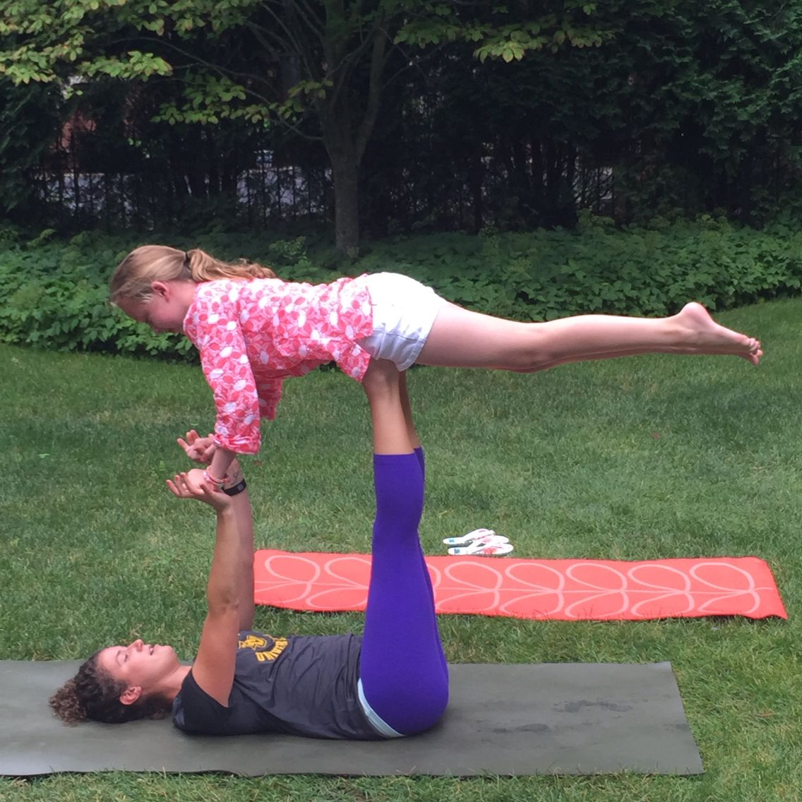 Cool Yoga Bird Pose Works With Two People Poses