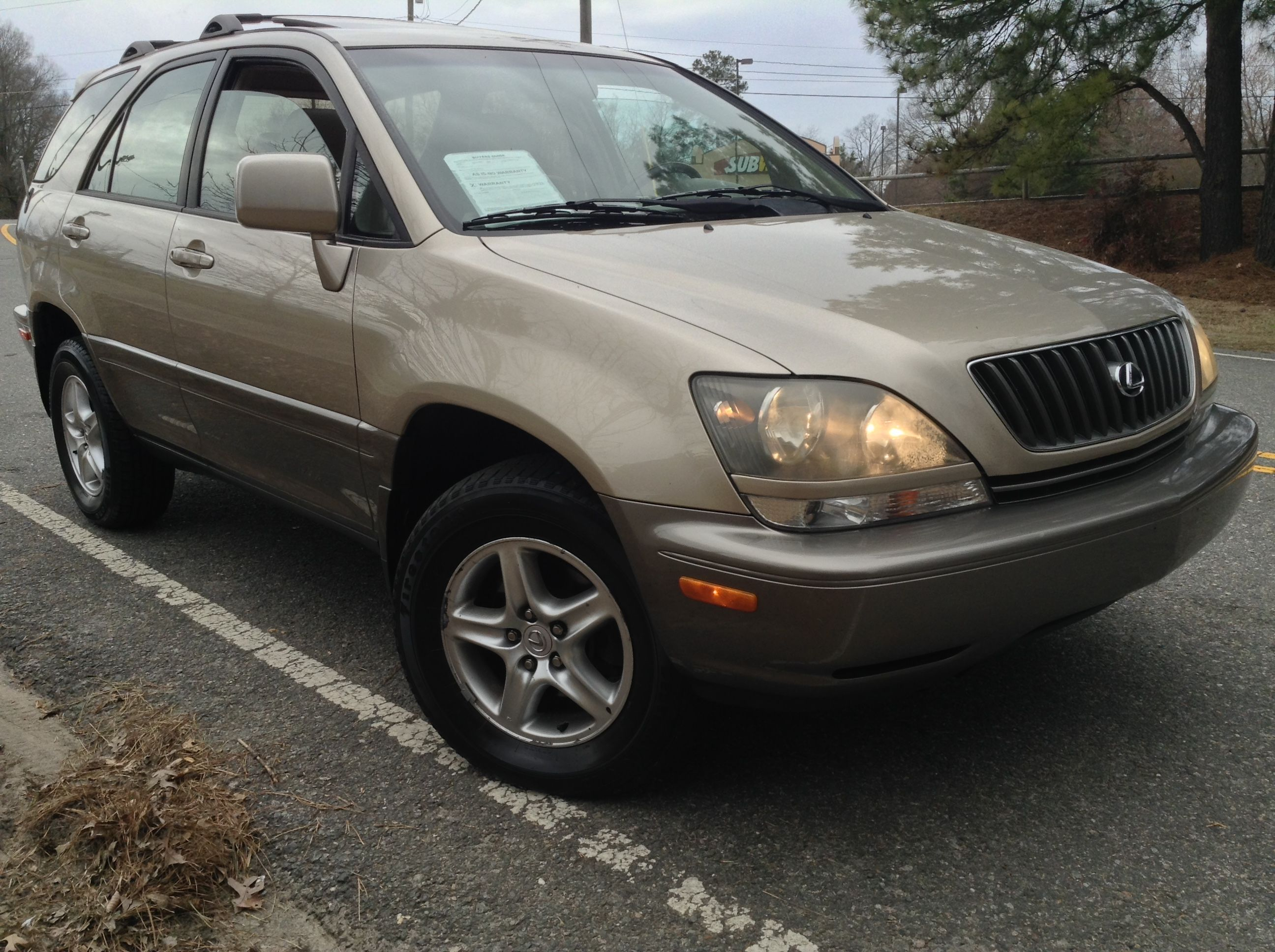 Used 2000 Lexus Rx 300 For Sale Durham Nc Lexus Suv For Sale Durham Nc