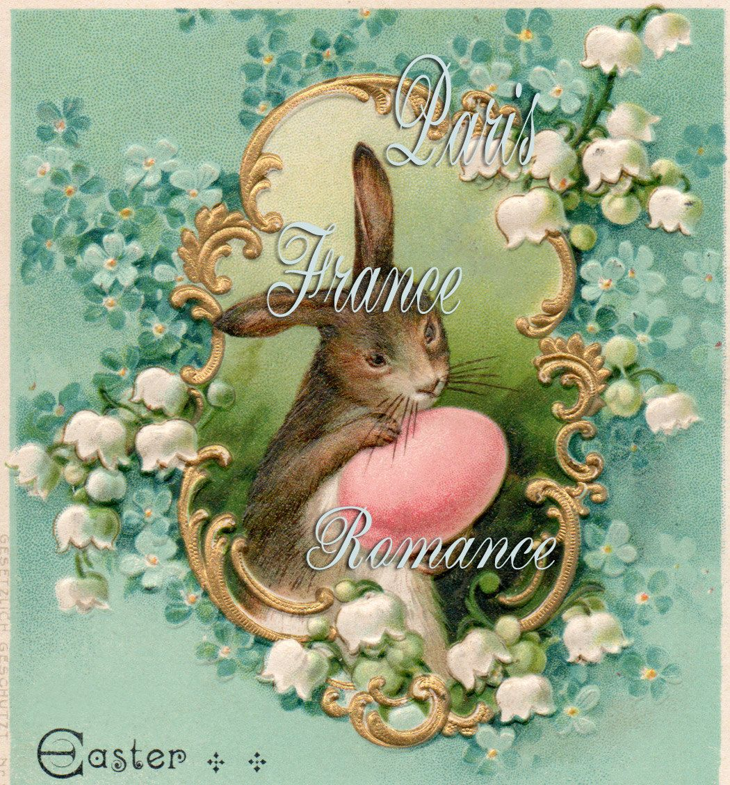 Old Fashioned Rabbit Painting Patterns