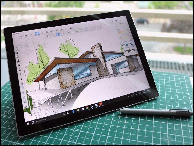 Elegant Electronic Sketchbook