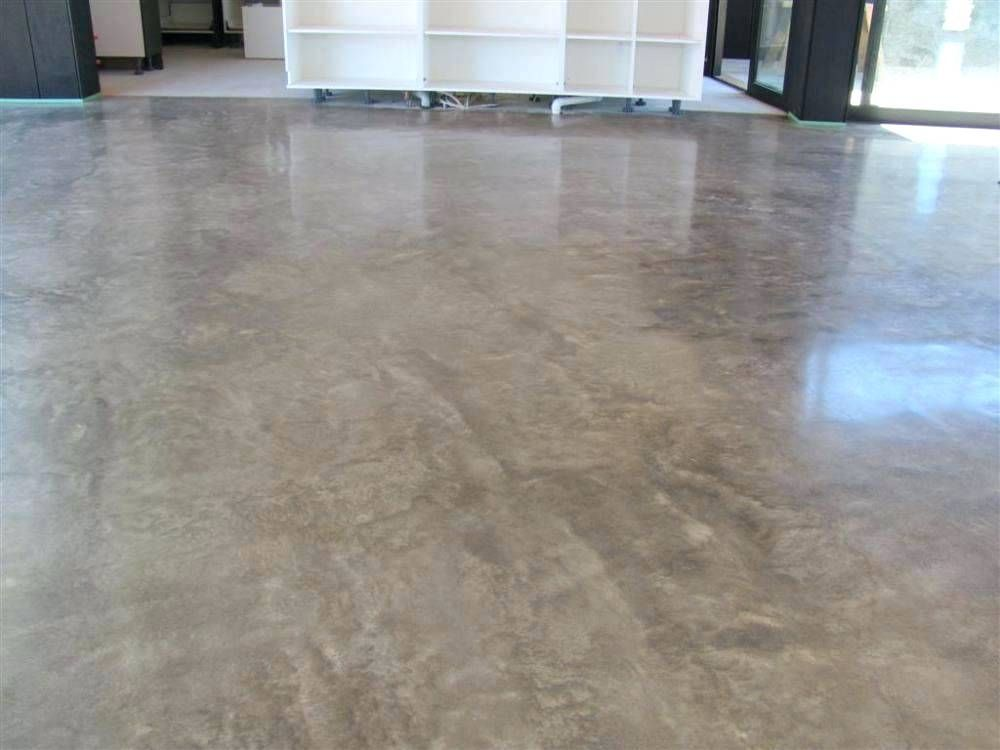 Bat Floor Sealer Stained Concrete Floors Limestone Exposed Aggregate Polished Before Carpet
