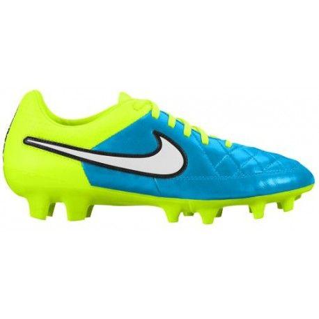 Nike Tiempo Legacy FG - Women's - Soccer - Shoes - Blue Lagoon/White/Volt/Black-sku:30547400  | Soccer shoes, Nike shoe and Black