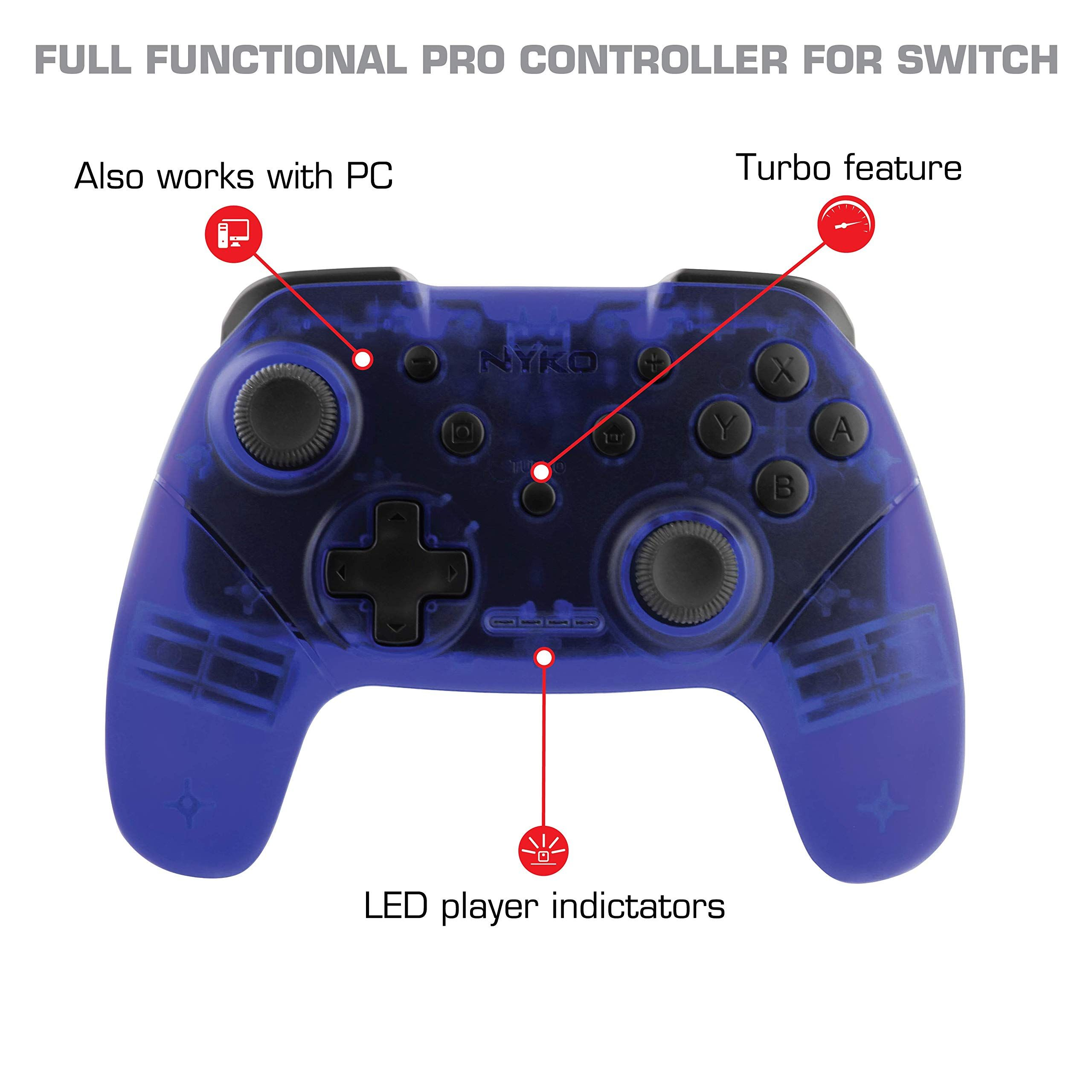 Nyko Wireless Core Controller Bluetooth Pro Controller