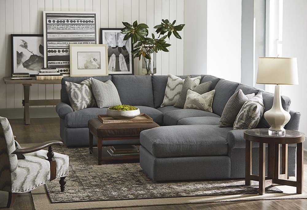 U Shaped Sectional By Bassett Furniture Family Room With Sectional Sofas Pinterest
