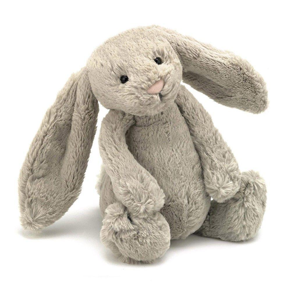 Hase Bashful Mit Grossen Ohren Beige Bunny Plush Jellycat Bunny Toys