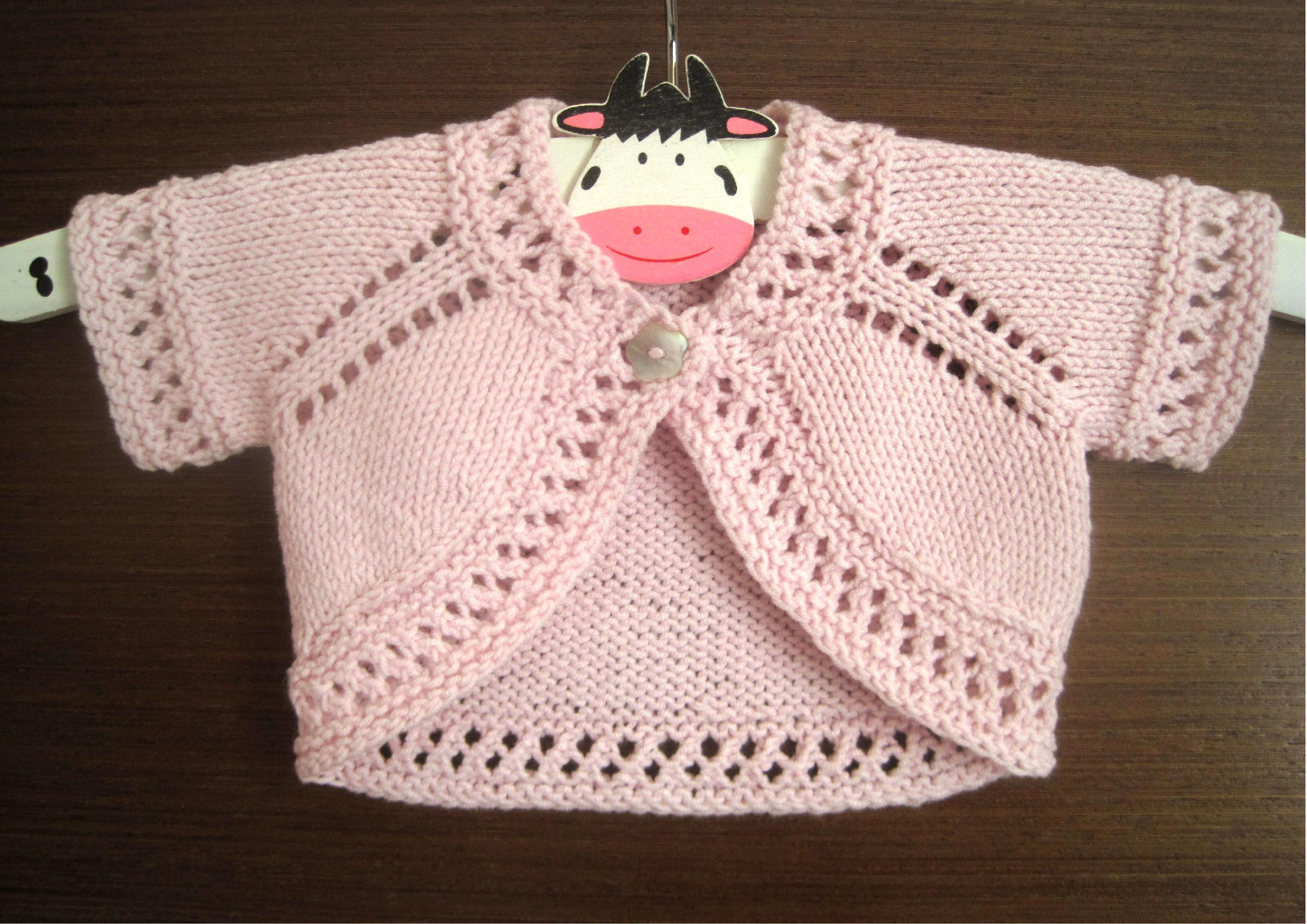 Hand Knitted Wool /& Cashmere de perles baby hat 6-12 mois