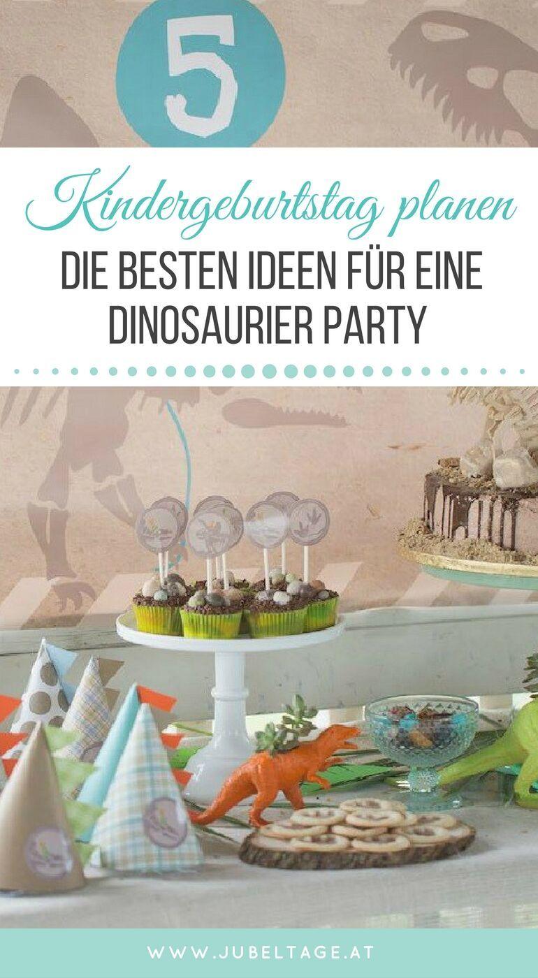 dinosaurier geburtstagsparty mit s er deko und diy ideen f r kleine forscher jubeltage diy. Black Bedroom Furniture Sets. Home Design Ideas