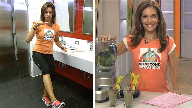60-second shape-up: Protein breakfasts and easy morning workouts - Health - TODAY.com