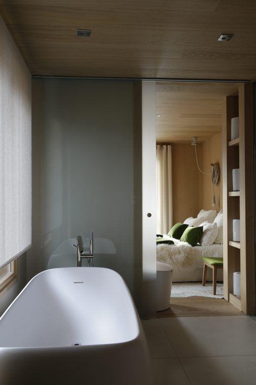 Chalet kibo - Angélique Buisson - Suite parentale - salle de bain ...