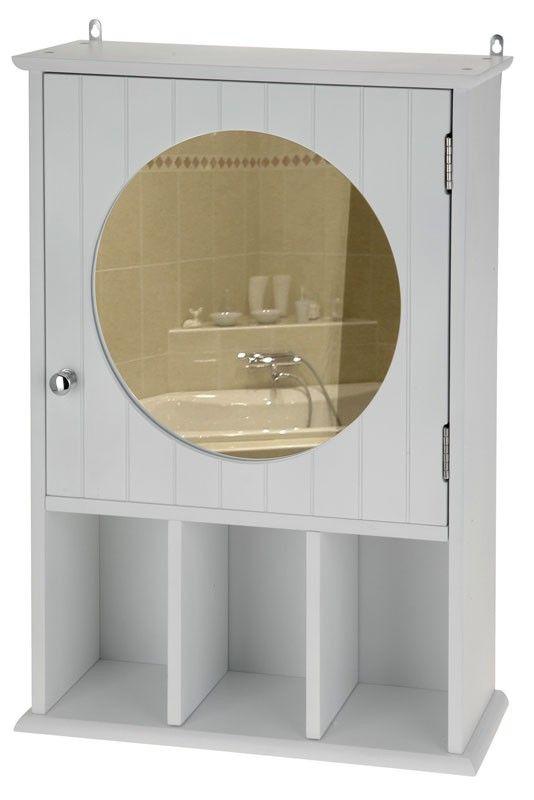 houten badkamerkast met spiegel. met 2 legplanken. inclusief, Badkamer