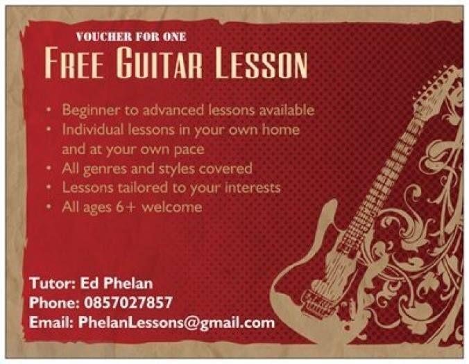 Guitar Flyer 676x525