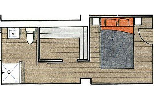 plan maison troite et longue attractive plan maison de plain pied chambres plan maison en. Black Bedroom Furniture Sets. Home Design Ideas