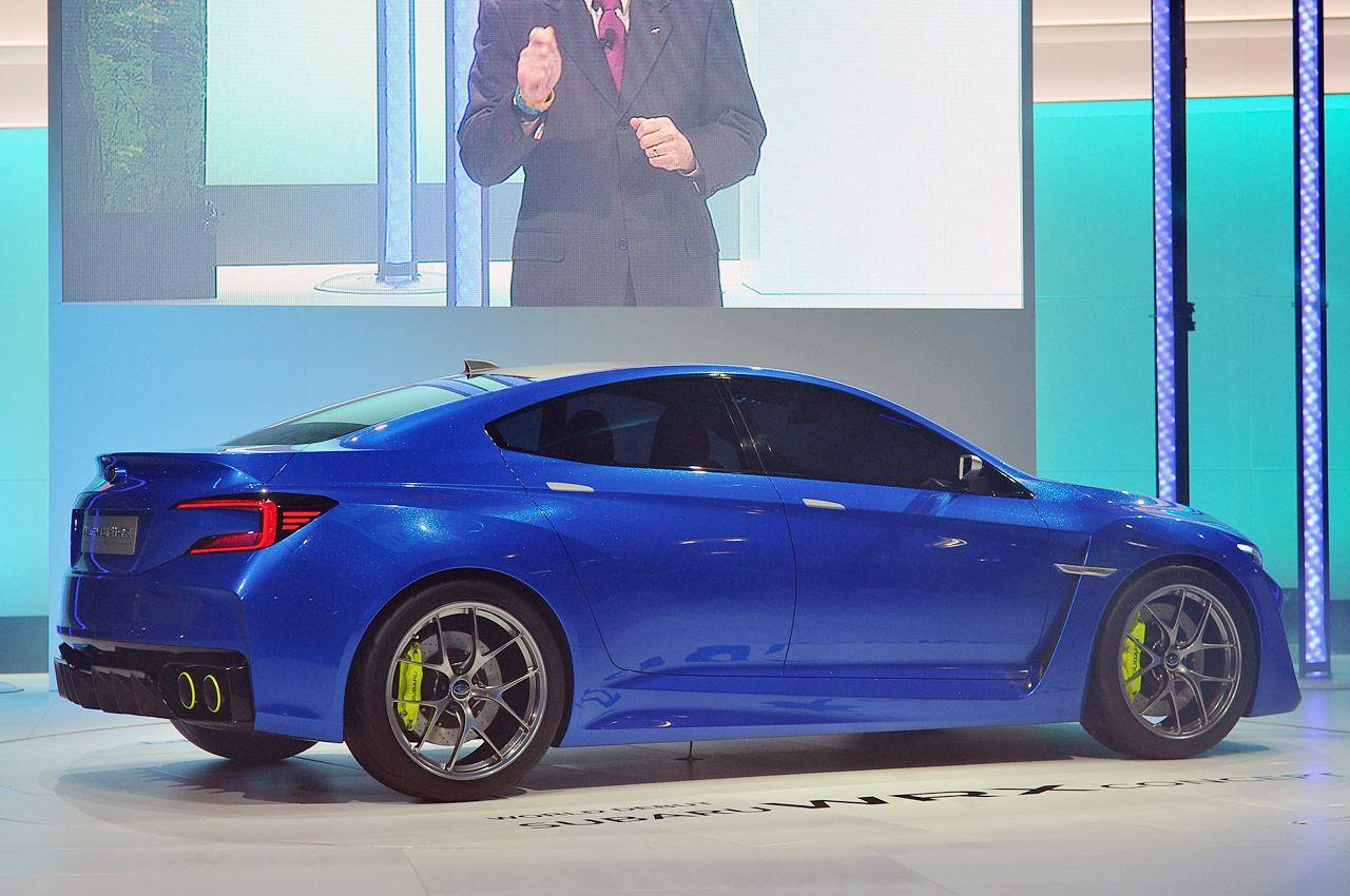 2019 Subaru Wrx Sti Concept Carmodel Pinterest Subaru Wrx Subaru And Cars