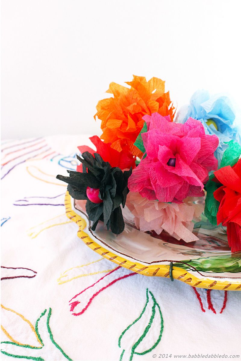 How To Make Paper Flowers In 5 Minutes Using Crepe Paper Babble
