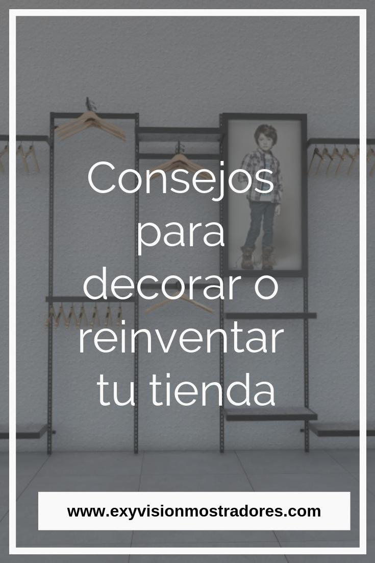 Consejos para decorar o reinventar tú tienda   Diseño ...