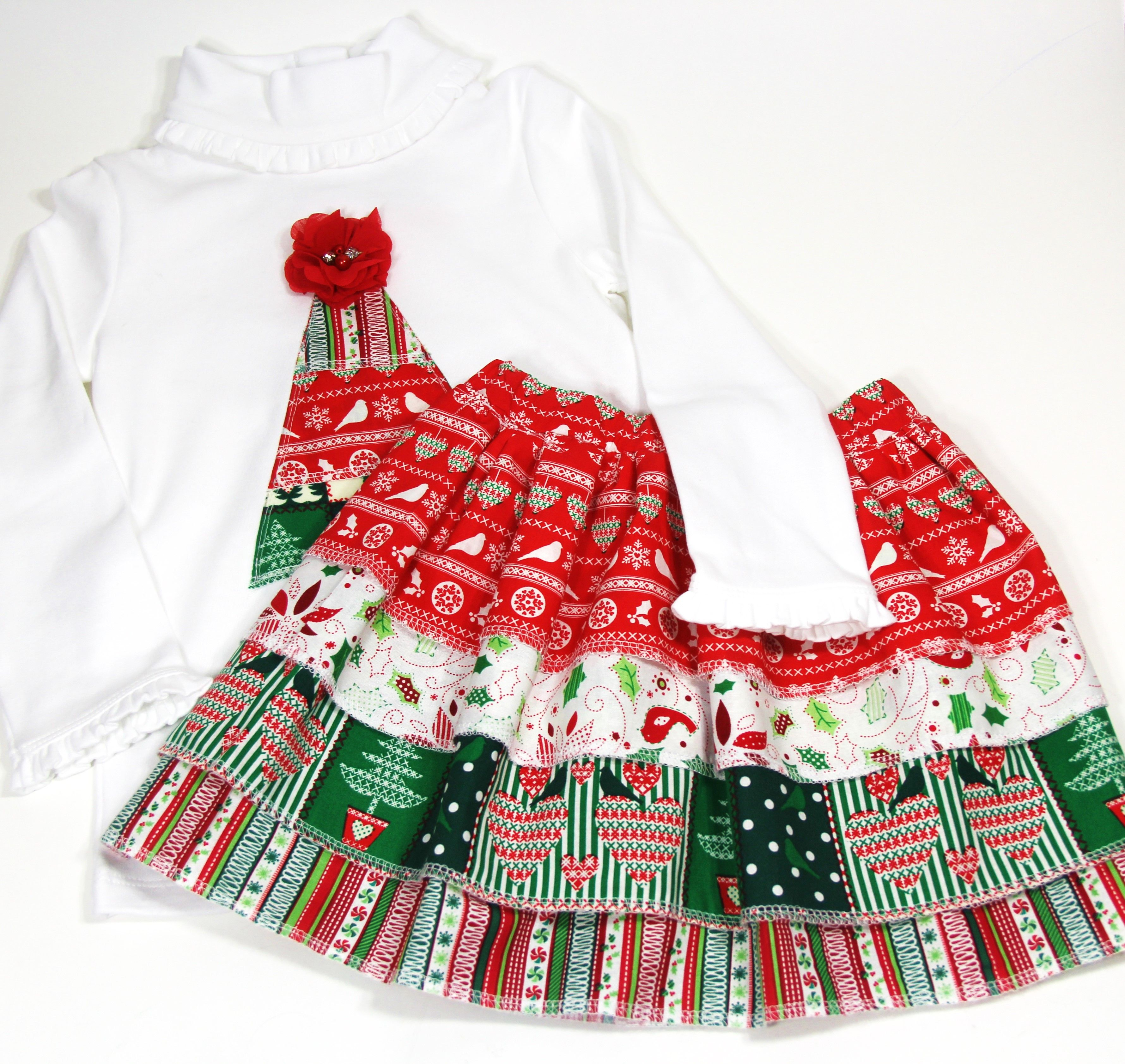Toddler 2-3 Years Old Christmas Outfit for Girls   Girls christmas outfits, Girl outfits, Outfits