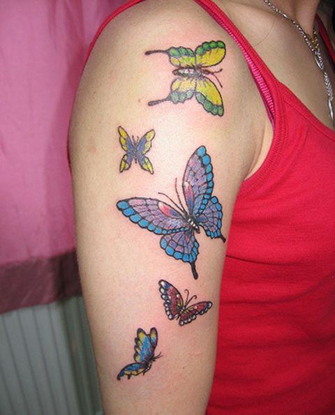 Hand Butterfly Tattoo Designs