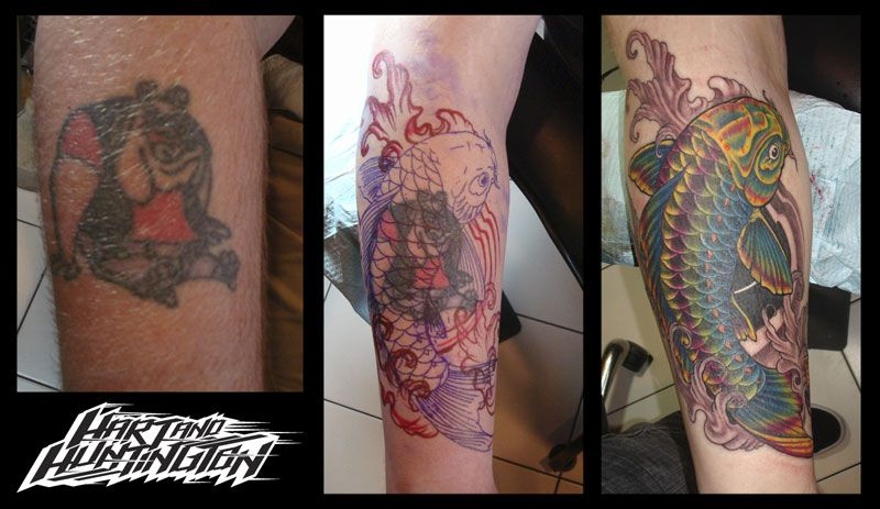 Tattoo Cover Up In Orlando Florida Hart And Huntington Orlando Cover Up Tattoos Tattoos Cover Up Tattoo