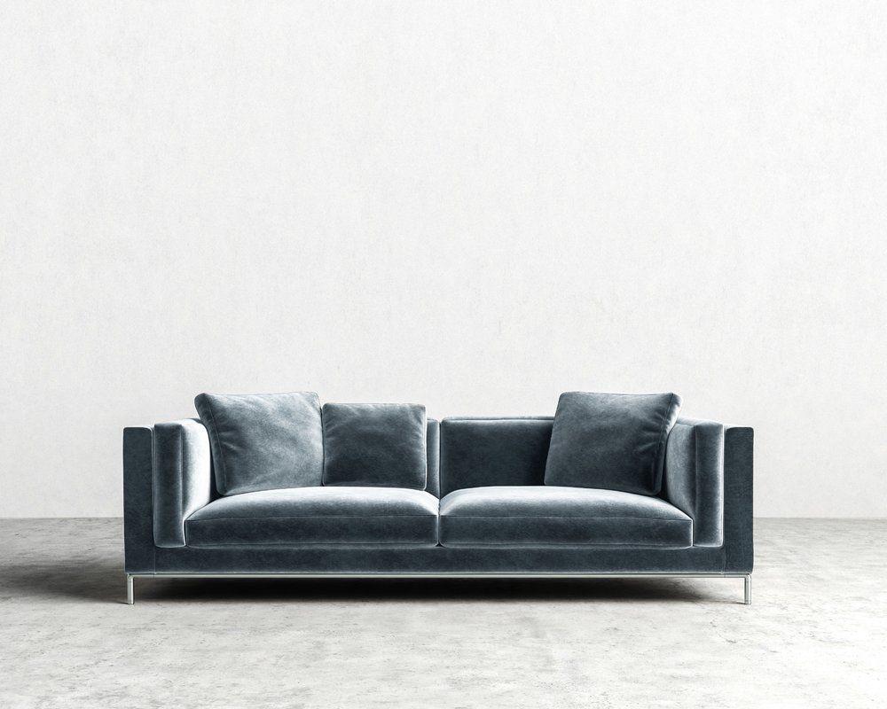 nico sofa 135 sofa leather sofa gray sofa rh pinterest com