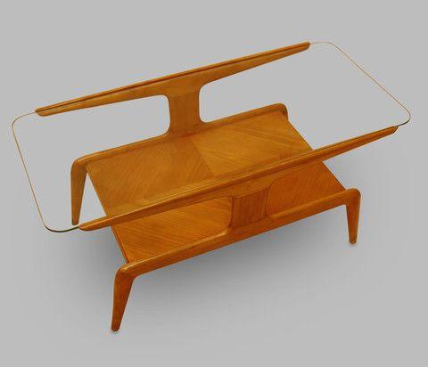 Table Basse Gio Ponti Gio Ponti Design Woodworking