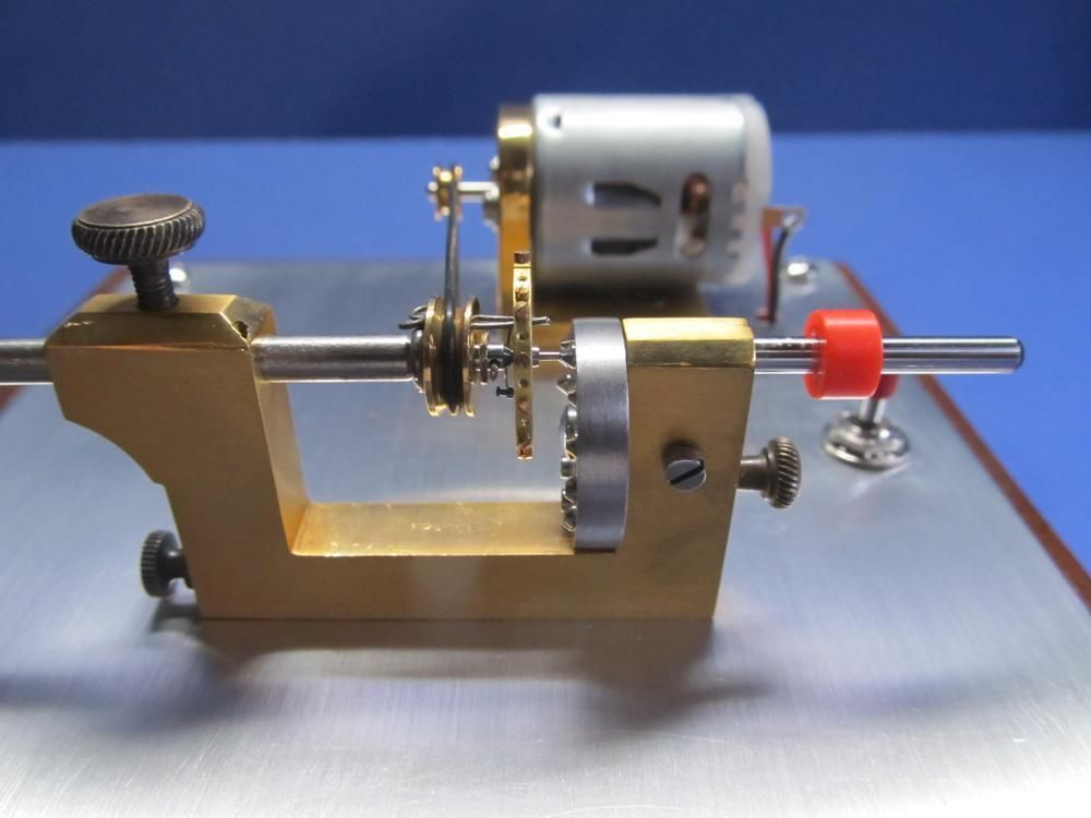 Watchmaker Pivot Drilling Lathe Levin Calipers Antique Brass