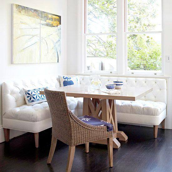 Breakfast Room Banquette Ideas Dining Nook Corner Kitchen