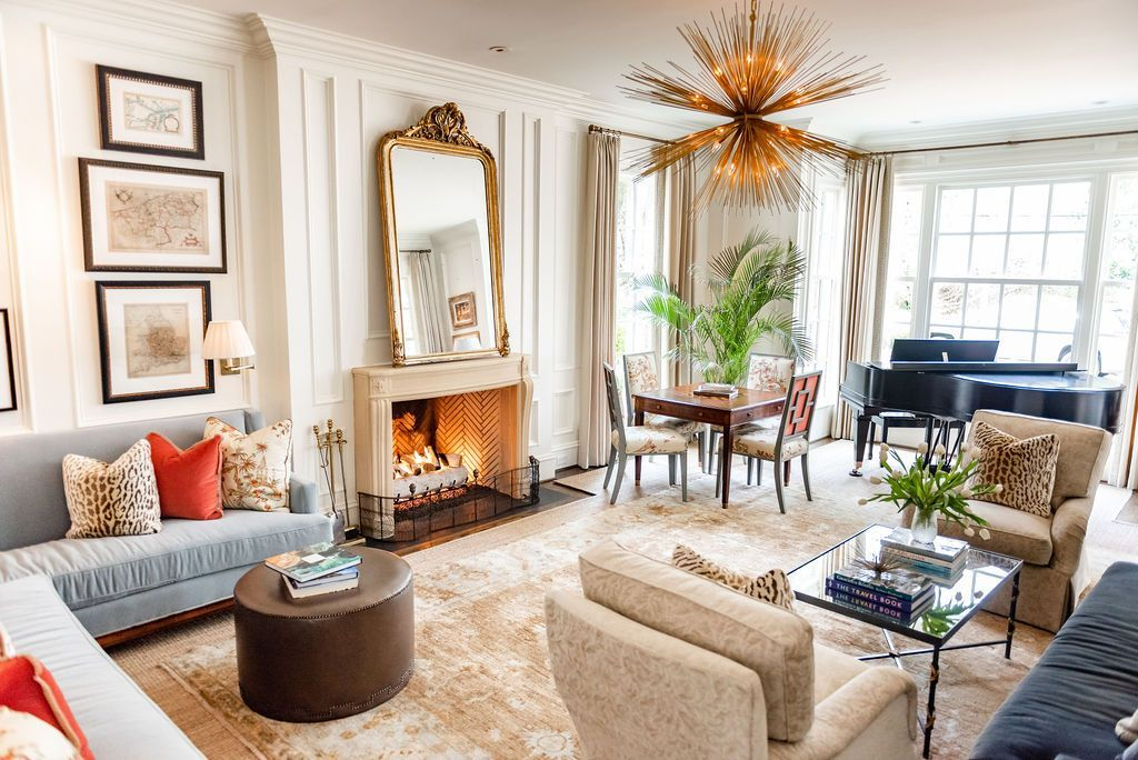 Transitional Living Room Style J Cathell Transitional Living Rooms Living Room Style Open Living Room Design