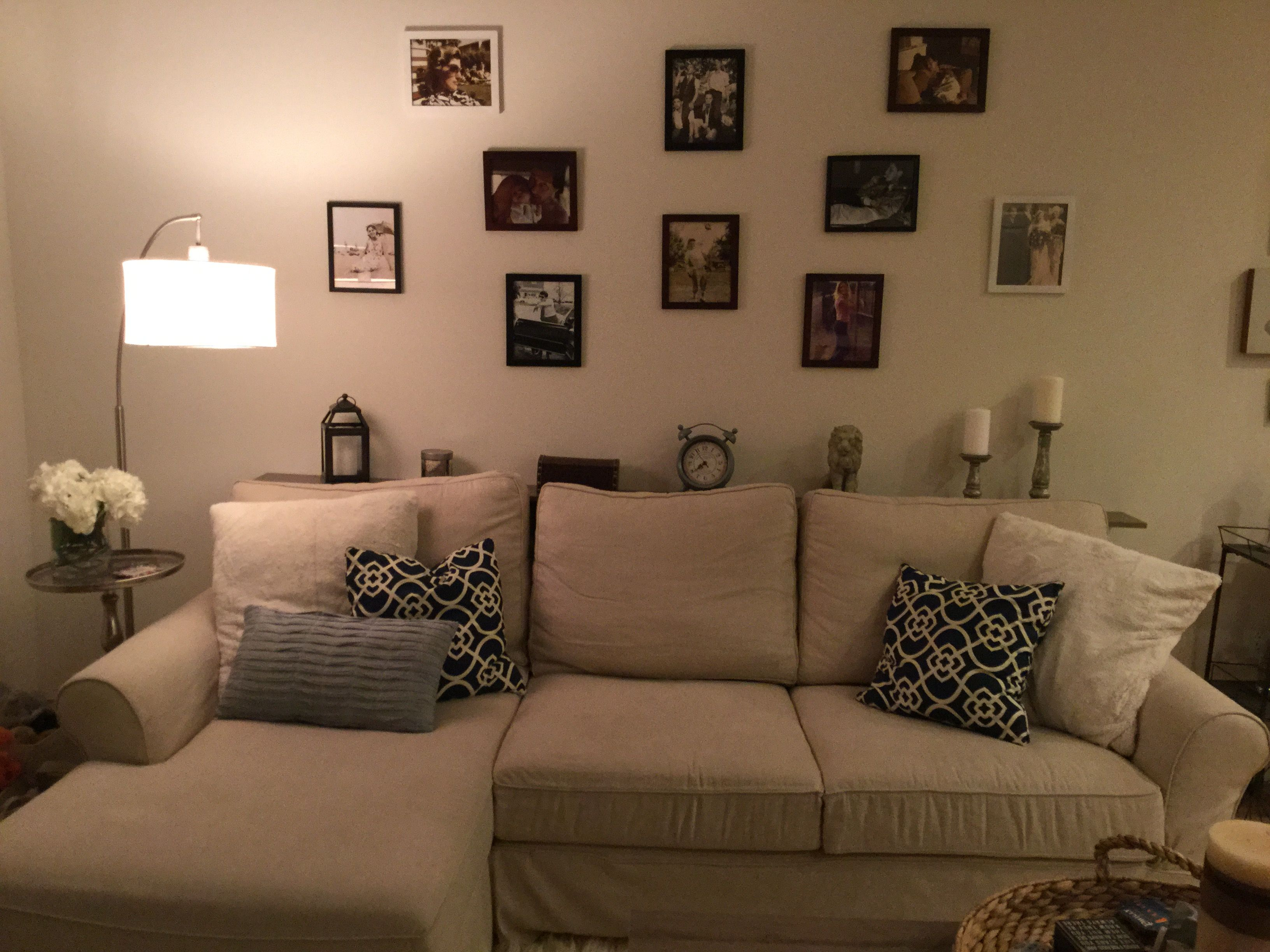 living room decor picture collage with images