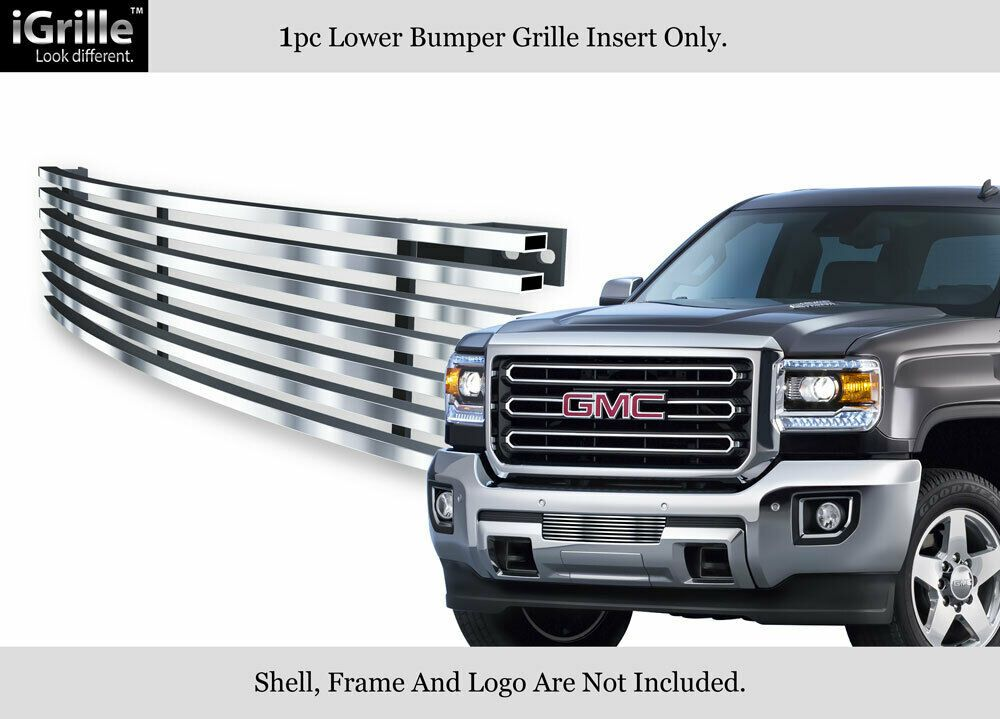 Ebay Sponsored Stainless Steel Billet Grille Fits 2015 2018 Gmc Sierra 2500 3500 For Bumper Gmc Sierra Gmc Bull Bar