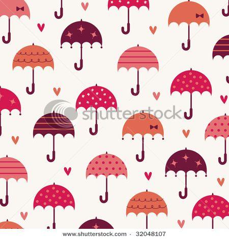 Cute Umbrella Pattern
