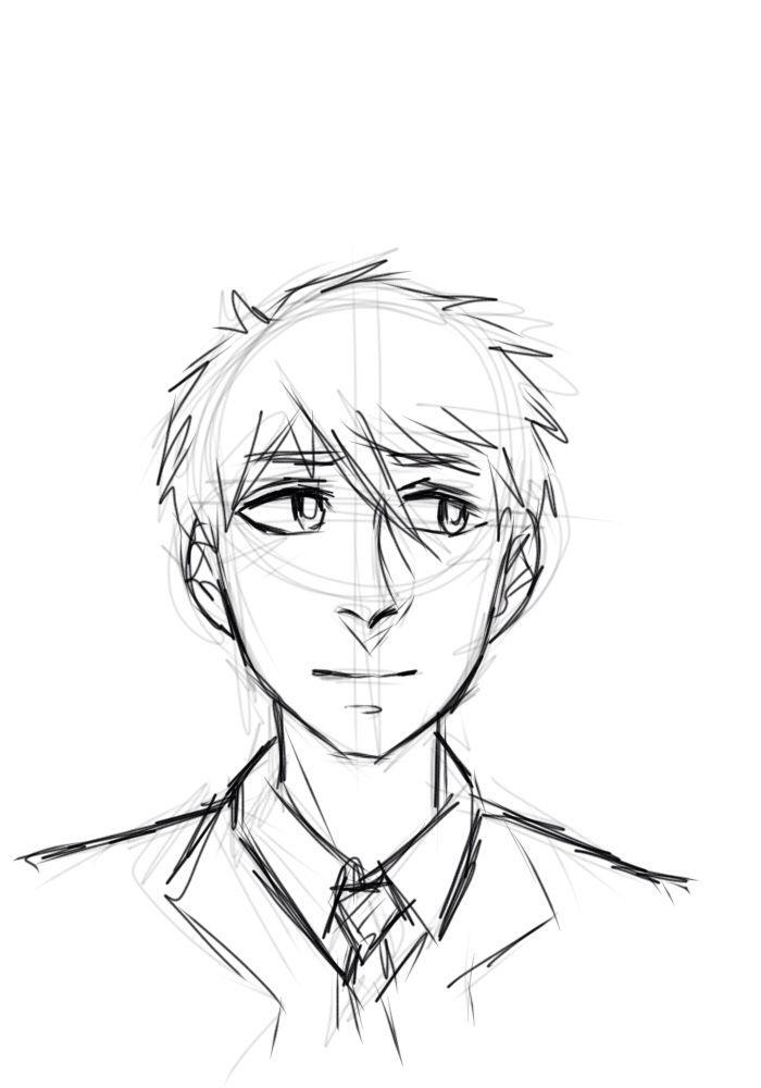 libsterdraws:   Makoto sketch - Free!