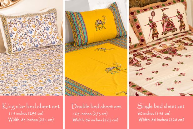 For More Types Of Fabrics And Designs Of Bed Sheets And Cushion Cover, You  Can
