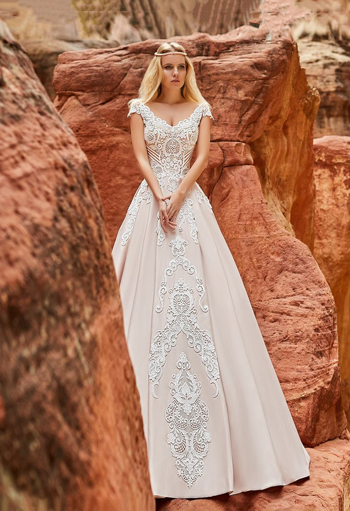 9bf4c6f7c96 ISA DORA Dress By OKSANA MUKHA in Charme Gaby Bridal Dresses boutique Tampa  Bay  1300.00
