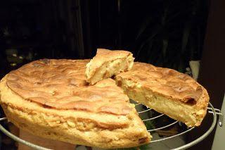 Broodpudding, veganistisch met appeltjes en rozijn